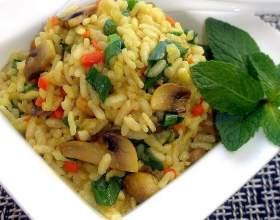 Как приготовить в микроволновой печи рис по-итальянски фото