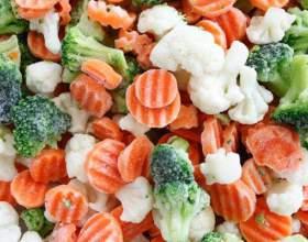 Как приготовить замороженные овощи в микроволновке фото