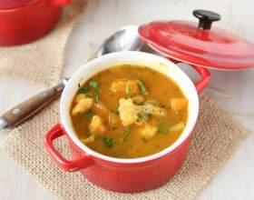 Как приготовить зимний суп с тыквой фото