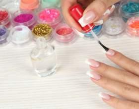 Как приклеить ногти фото