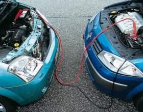 Как «прикурить» автомобиль от автомобиля.. фото