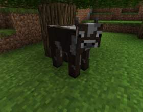 Как приручить корову в майнкрафт фото