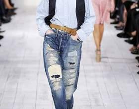 Как пришить заплатку к джинсам фото