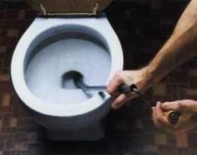 Как прочистить засор в унитазе фото