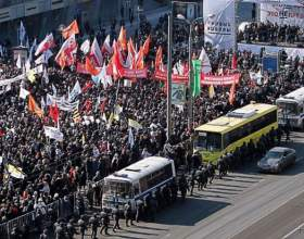 Как прошли майские митинги в москве фото