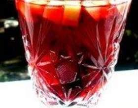 """Как просто и быстро приготовить фруктово-ягодный коктейль """"цветы гибискуса"""" фото"""
