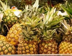 Как проверить ананас на спелость фото