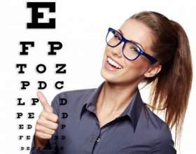 Как проверять зрение по таблице фото