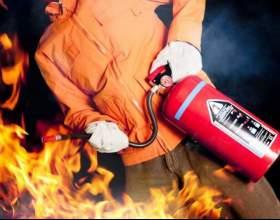 Как работает огнетушитель фото