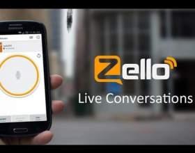 как работает zello
