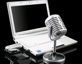 Как работать с компьютерным микрофоном фото