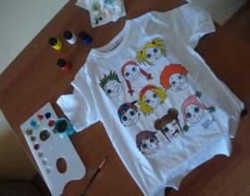 Как раскрасить футболку фото