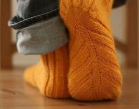 Как рассчитать количество петель на носки фото