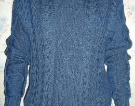 Как растянуть севший свитер фото