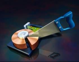 Как разделить локальный диск на два фото