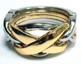 Как разобрать головоломки с кольцом фото