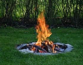 Как развести огонь в сырую погоду фото