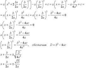 Как решать уравнения с дискриминантом фото