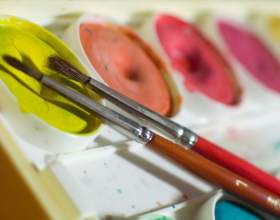 Как рисовать акварельными красками фото