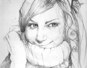 Как рисовать человеческое лицо фото