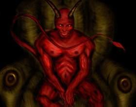 Как рисовать демона фото