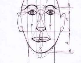 Как рисовать голову фото