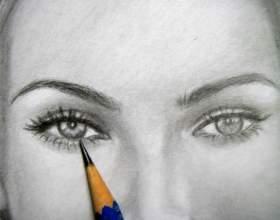 Как рисовать лицо карандашом фото