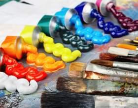 Как рисовать масляной краской фото