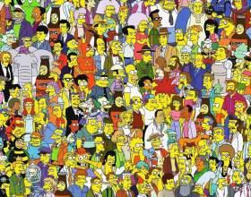 """Как рисовать персонажей """"симпсонов"""" фото"""