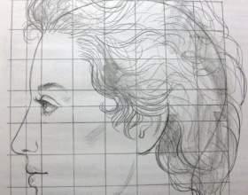 Как рисовать профиль фото