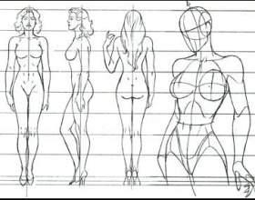 Как рисовать пропорцию человека фото