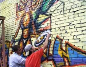 Как рисовать шрифтом граффити фото