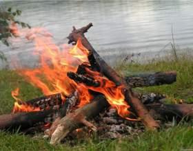 Как самостоятельно разжигать костер фото