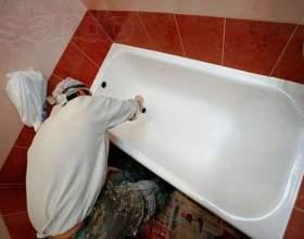 Как самостоятельно восстановить эмалевое покрытие ванны фото