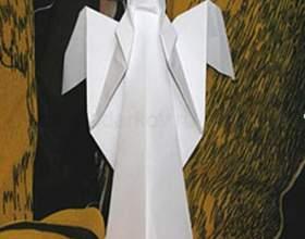 Как сделать ангела оригами фото