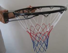 Как сделать баскетбольное кольцо фото