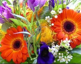 Как сделать букет цветов фото