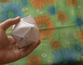 Как сделать бумажную бомбочку фото