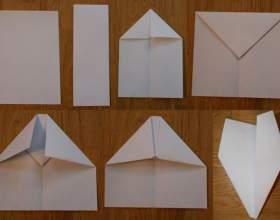 Как сделать бумажный самолёт фото