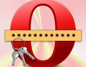 Как сделать, чтобы в опере сохранялся пароль фото