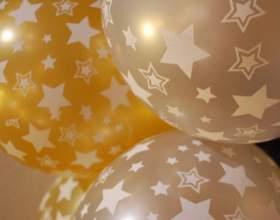 Как сделать цифры из воздушных шаров фото
