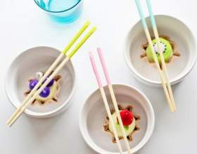 Как сделать цветные палочки для суши фото