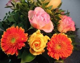 Как сделать цветочный букет фото