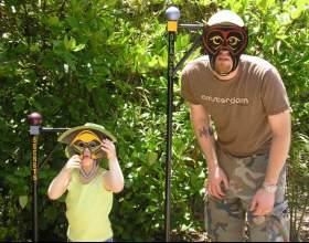 Как сделать детскую маску фото