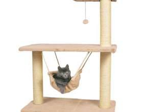 Как сделать домик для котёнка фото