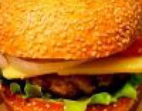 Как сделать домашний гамбургер фото