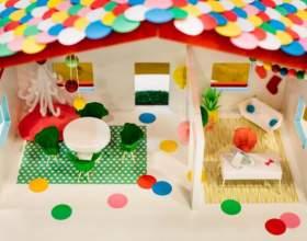Как сделать домик для куклы барби своими руками фото