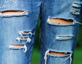 Как сделать джинсы модными фото