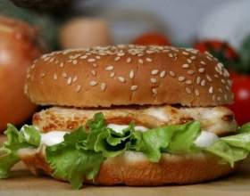 Как сделать гамбургер менее калорийным фото