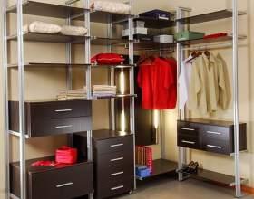 Как сделать гардеробную в маленькой квартире фото